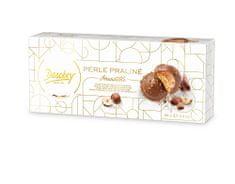 Desobry Sušenky s mléčnou čokoládou a lískovými oříšky Perle Praliné, 90g