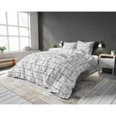 Sleeptime Povlečení LEXI WHITE 140x220, 60x70 cm