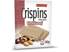 EXTRUDO Bio Cereální křehký chléb Crispins kaštanový 2x50g , Extrudo