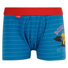 Cornette Dětské boxerky Kids modré (701/76) - velikost 110