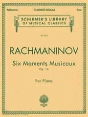 Six Moments Musicaux, Op. 16: National Federation of Music Clubs 2014-2016 Selection Piano Solo