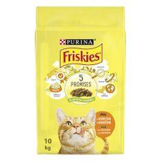 Friskies Cat s kuřetem a zeleninou 10 kg