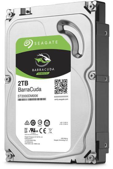 "Seagate BarraCuda, 3,5"" - 2TB (ST2000DM008)"