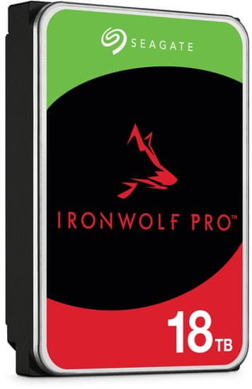 "Seagate IronWolf PRO, 3,5"" - 18TB (ST18000NE000)"