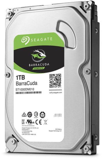 "Seagate BarraCuda, 3,5"" - 1TB (ST1000DM010)"