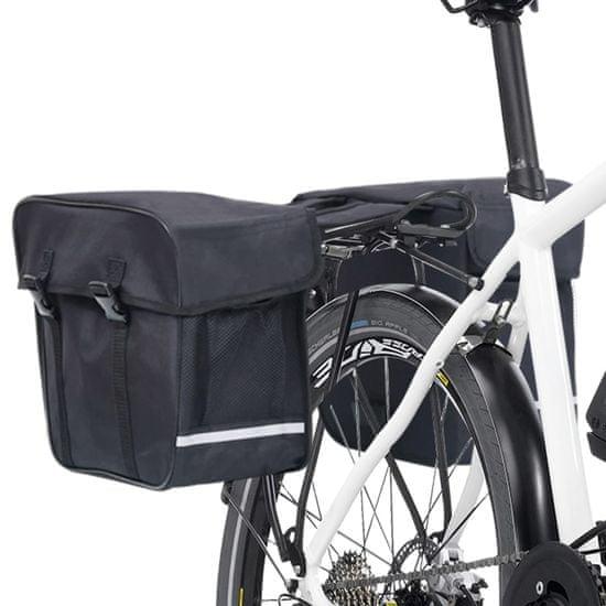 shumee Dvojno stojalo za kolesa, vodoodporno 35 L