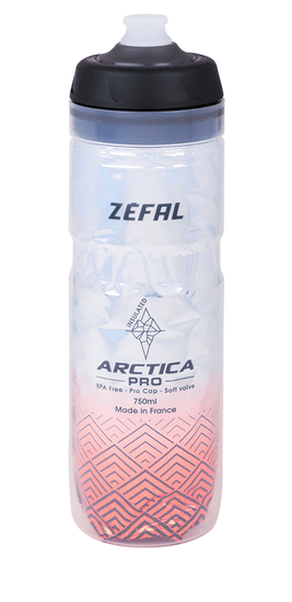 Zéfal Arctic Pro 75 Kulacs, Piros, 0,75 l