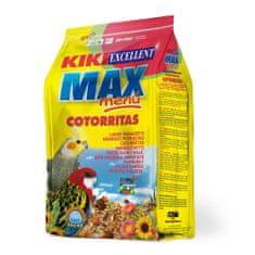 Kiki MAX Menu Cockatiel 1kg korely a agapornisy