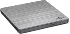 Hitachi GP60NS60 externí, M-Disc, USB, stříbrná