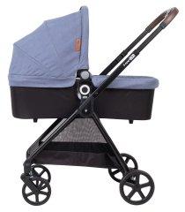 Freeon otroški voziček Elegance, komplet 3v1 modra
