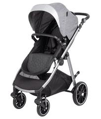 Freeon otroški voziček Move, komplet 3v1 svetlo siva