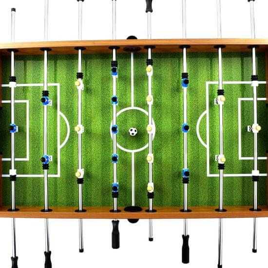 shumee Stół do gry w piłkarzyki, stal, 60 kg, 140x74,5x87,5 cm