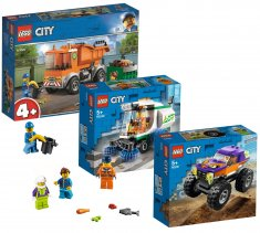 zestaw 3w1 City Great Vehicles 66686