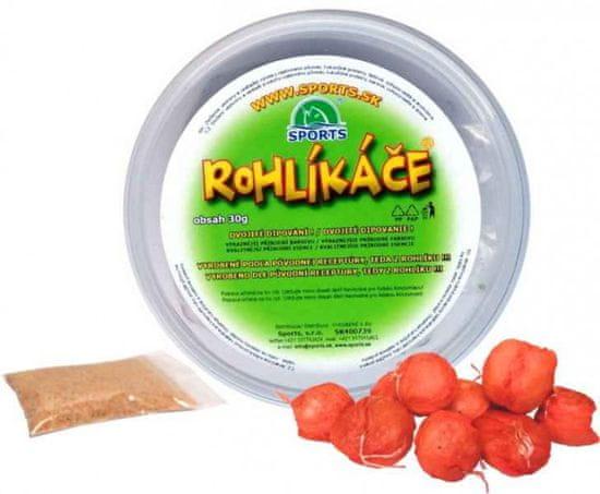 Sports Rohlíkové boilies 12/16mm Brusnicový džem