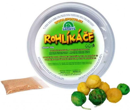 Sports Rohlíkové boilies 12/16mm Ananás