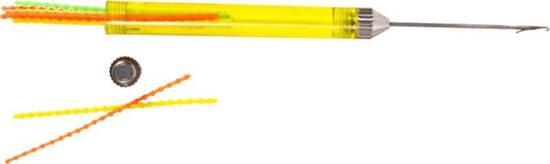 Sports Rybárska Ihla FLUO so záklopkou a zásobníkom zarážok