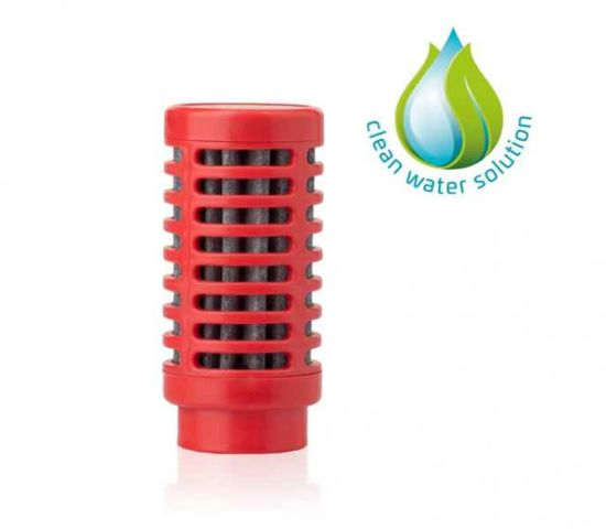quell Náhradný filter do fľaše Nomad - Červená