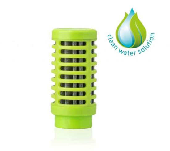 quell Náhradný filter do fľaše Nomad - Zelená