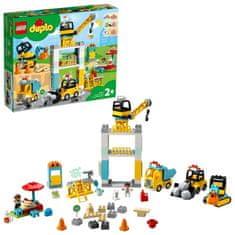 LEGO Duplo® Town 10933 Izgradnja toranjskim dizalicama