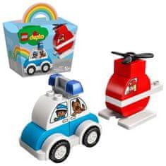 LEGO DUPLO 10957 Vatrogasni helikopter i policijski automobil