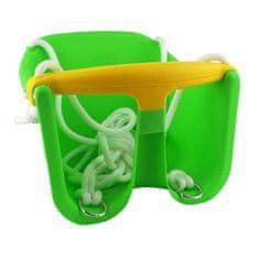 Cheva dětská houpačka Baby plast - zelená