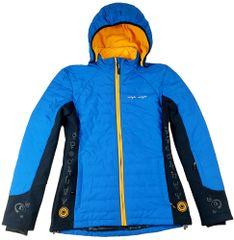MAYA MAYA Ženska zimska bunda jakna s snemljivo kapuco - Tama Jacket, Primaloft tehnologija, modra, XS