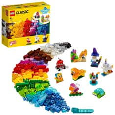 LEGO Classic 11013 Prozirne kreativne kocke
