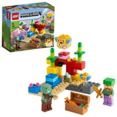 LEGO Minecraft 21164 Koraljni greben