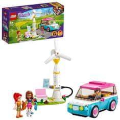 LEGO Friends 41443 Olivia a jej elektromobil