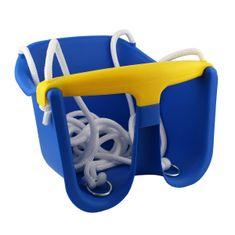 Cheva dětská houpačka Baby plast - modrá