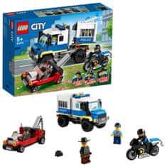 LEGO City Police 60276 Rabszállító