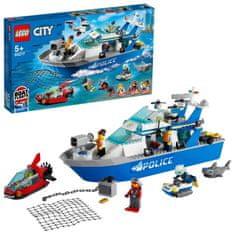 LEGO City Police 60277 A rendőrségi járőrhajó