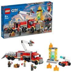 LEGO City 60282 Tűzoltóság parancsnokság