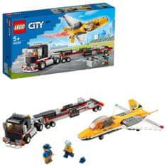 LEGO City Great Vehicles 60289 Prijevoz akrobatskog zrakoplova