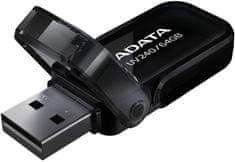 A-Data UV240 16GB čierna (AUV240-16G-RBK)