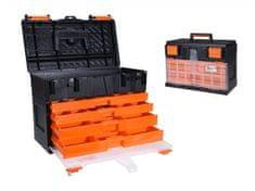 EXCELLENT Box na nářadí s organizérem 45 x 26 x 32 cm