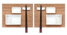 EXCELLENT Sushi set keramika / bambus súprava 10 ks