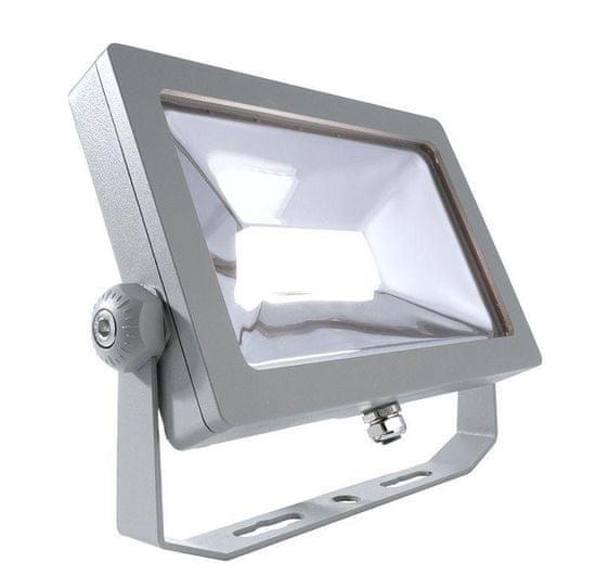 Light Impressions Light Impressions KapegoLED podlahové a nástenné a stropné svietidlo FLOOD SMD I 220-240V AC / 50-60Hz 32,40 W 4000 K 2650 lm 230 mm strieborná 732025