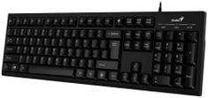 Genius Smart KB-100, čierna, CZ/SK (31300005403)