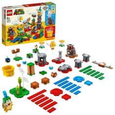 LEGO Super Mario™ 71380 Set pre tvorcov - majstrovské dobrodružstvo