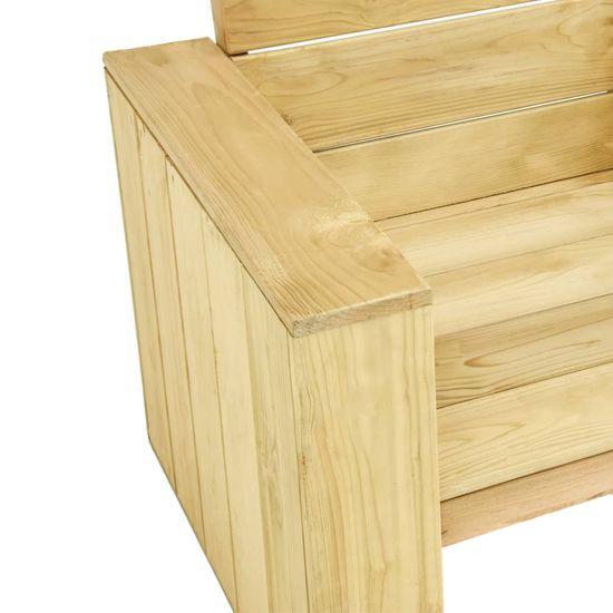 Greatstore 3-dielna záhradná sedacia súprava impregnovaná borovica