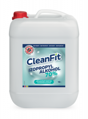 Cleanfit Izopropylalkohol 70% dezinfekčný roztok 10 L