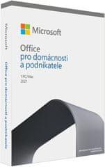 Microsoft Office 2021 pro domácnosti a podnikatele (T5D-03504) CZ