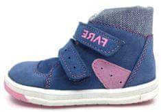 Fare dívčí zimní kotníčková obuv 2141251 20 modrá