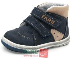Fare dětská zimní kotníčková obuv 2141202 19 modrá