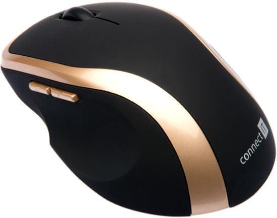 Connect IT WM2200 myš, zlatá, (CI-260)