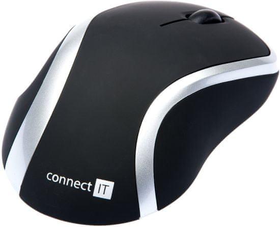 Connect IT WM2200 myš, strieborná (CI-261)