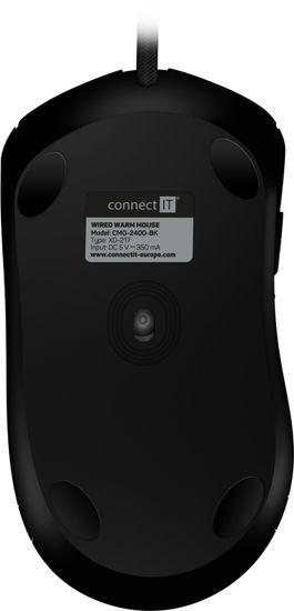 Connect IT FOR HEALTH vyhrievaná, čierna (CMO-2400-BK)