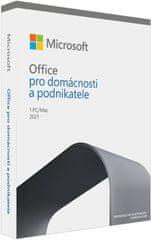 Microsoft Office 2021 pro domácnosti a podnikatele, bez média T5D-03504