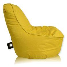 PrimaBag Sedací vak Seat malý polyester citronová